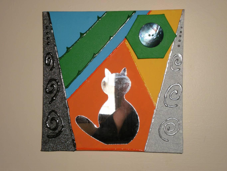Crea peinture ch ssis avec forme g om trique for Forme peinture